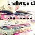Challenge 2014 : les 400 points - terminé