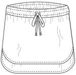 Sew DIY - Baseball Skirt