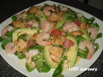 Salade_poulet__crevettes__pamplemousse__etc