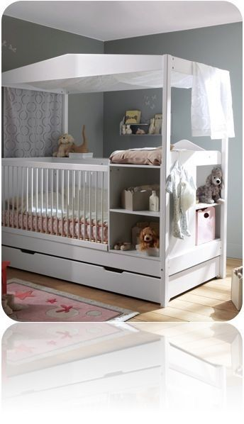 Pour dormir le lit barreaux big m little m - Ikea bebe table a langer ...