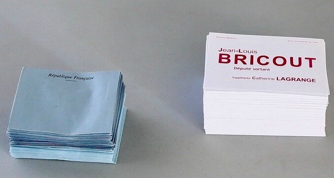 LÉGISLATIVES 2017 2e TOUR HIRSON BULLETIN BRICOUT