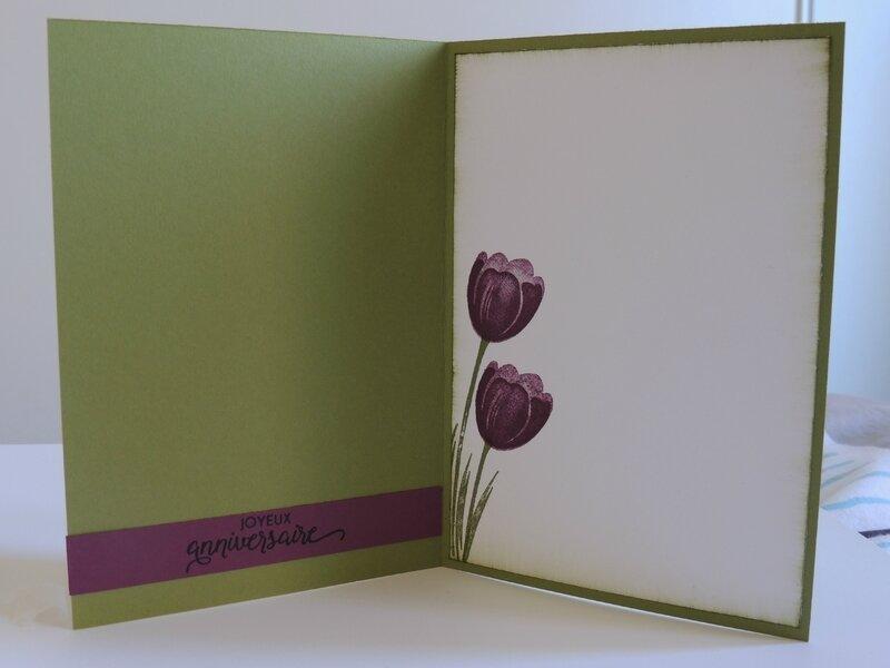 Carte Tulipe (Intérieur)