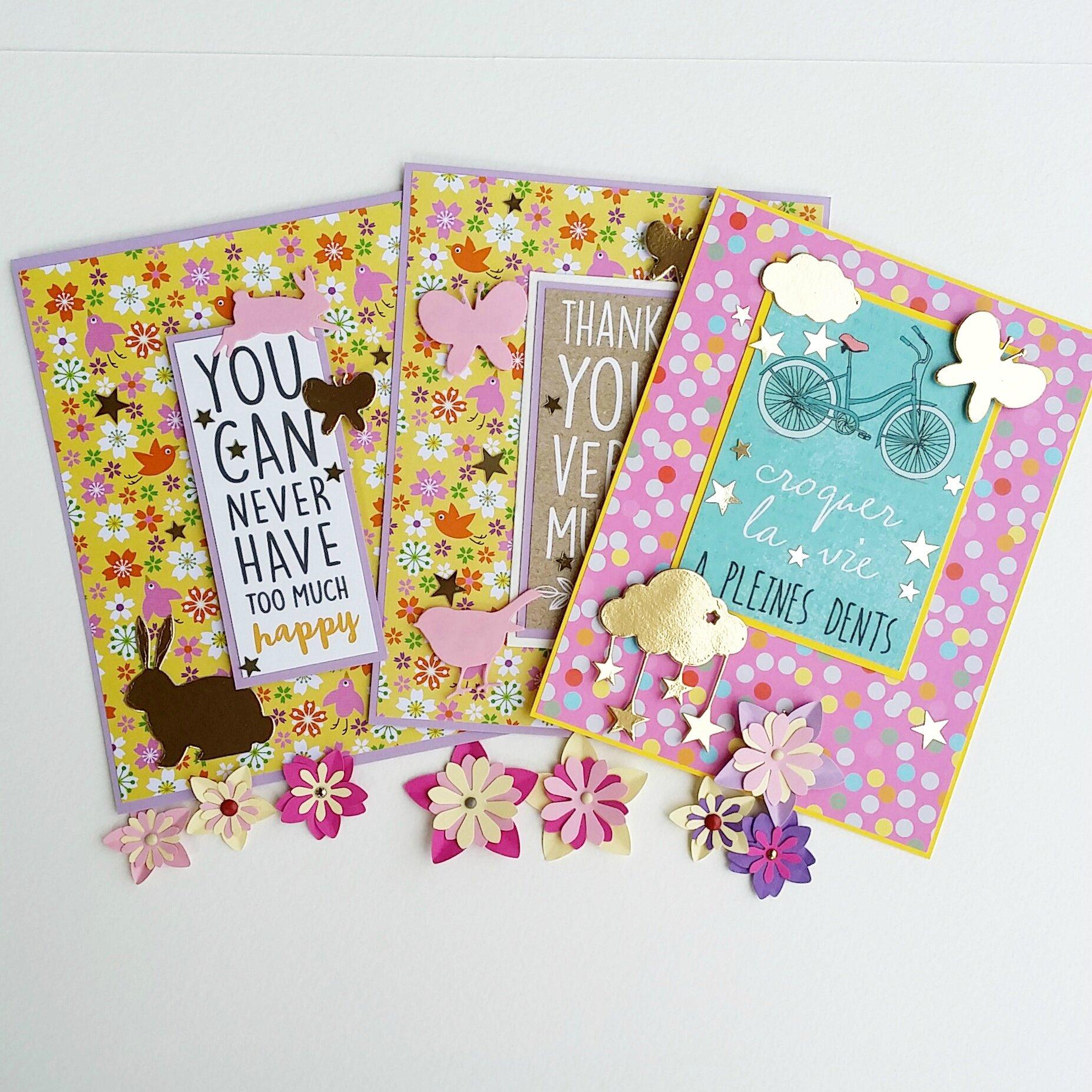 cartes vanille jolie