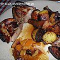 0124 Rouelle de porc au miel, moutarde et abricots secs 3