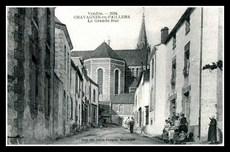 chavagnes en paillers 1793 la paroisse de la mara chine normande. Black Bedroom Furniture Sets. Home Design Ideas