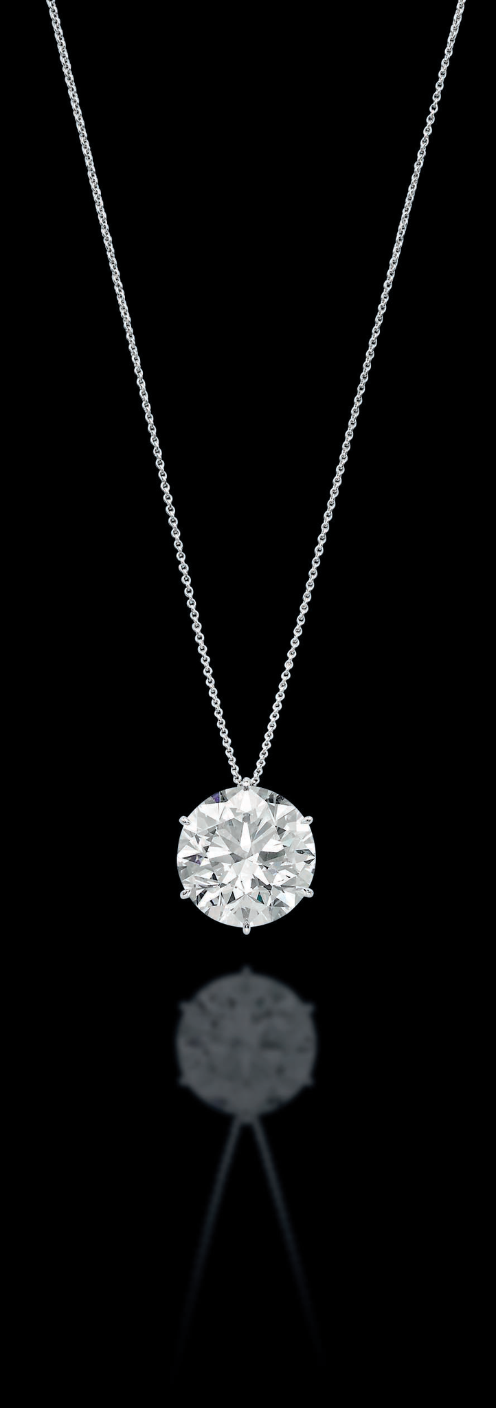 A spectacular diamond pendant