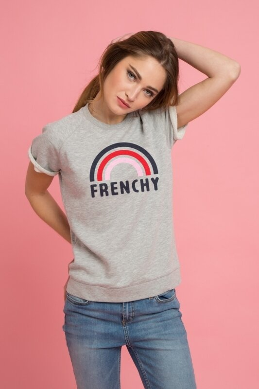sweater_manches_courtes_femme_frenchy