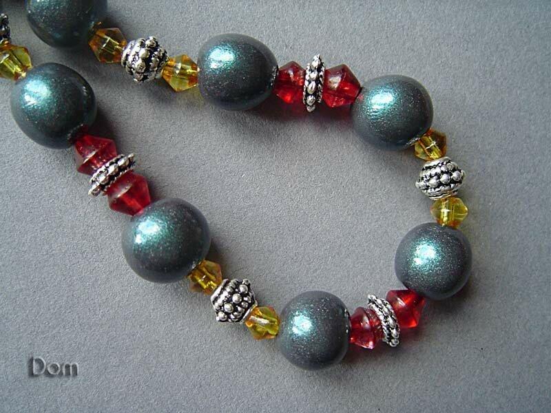 Perles Noires Détail