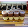 Crème jock ou bordeaux en dessert