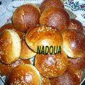 Krachels ou petit pains marocains