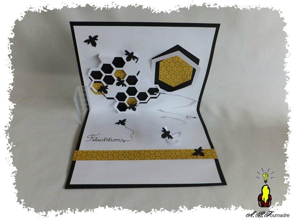 octogones en folie la ruche et ses abeilles qui s 39 activent les passions d 39 art. Black Bedroom Furniture Sets. Home Design Ideas
