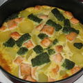 Frittata de saumon