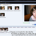 Superposer des photos dans un montage avec movie maker