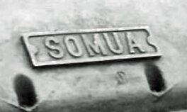 SOMUA Plaque