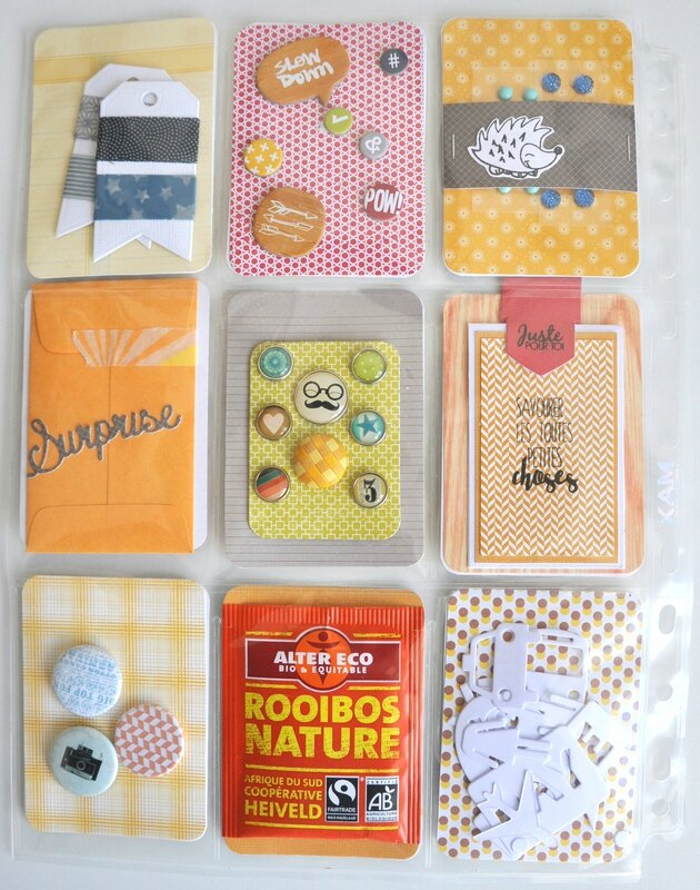 verso 1 pocket letter oct 2015 swap d'automne forum little scrap