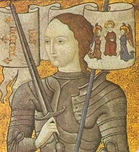 portrait Jeanne d'Arc