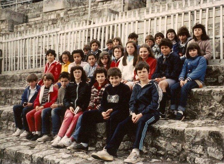 école St-Louis 1983