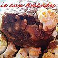 Brownie aux amandes et popcorn ( au thermomix )