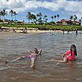 #5 : hawaii : la superbe plage de wailea, le petit village de lahaina et la shave ice