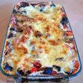 Lasagnes aux aubergines, parmesan et tofu soyeux