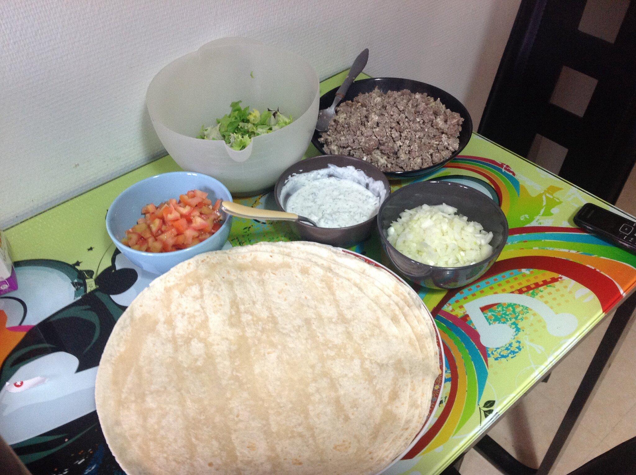 Recette tacos a la viande hach e a la bonne fourchette for Tamiser cuisine
