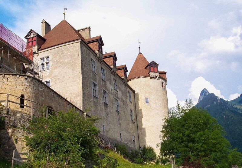 Gruyère chateau