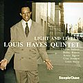 Louis Hayes Quintet - 1989 - Light And Lively (Steeple Chase)