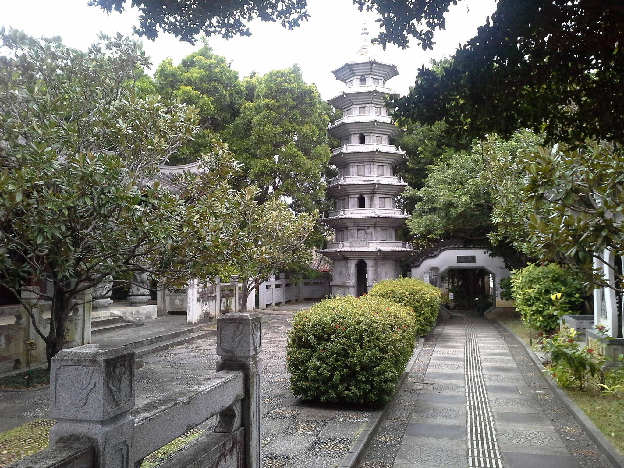 Okinawa Le jardin chinois et le temple de Naminoue beach