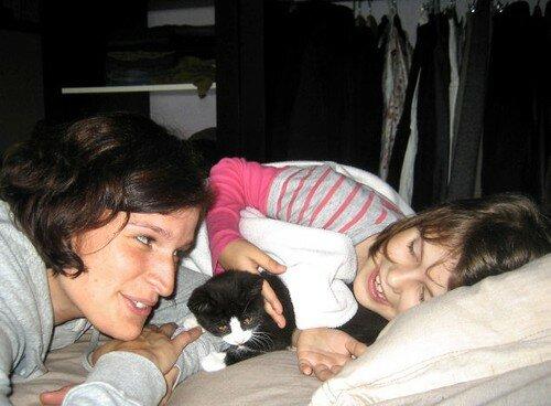 Jenny, Juju et MARIUS....