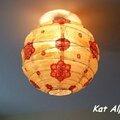 Customisation d'une boule japonaise !!!