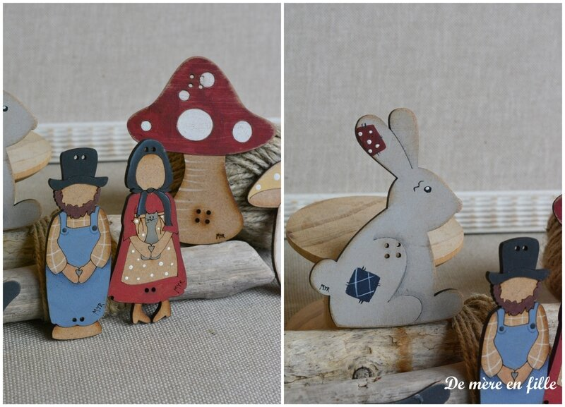 carte Amish et lapin 2