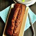 Cake banane-chocolat-gingembre