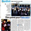article le Républicain 27 nov 08