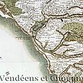 Cassini, source cartographique pour les guerres de vendée
