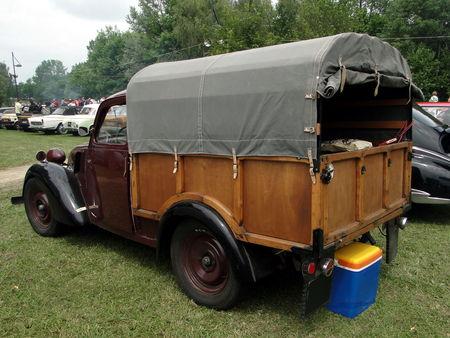 SIMCA 8 Bachee 1948 Retro meus Auto Lac de Madine 2010 2
