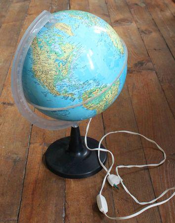 1 globe lumineux vie d 39 puce. Black Bedroom Furniture Sets. Home Design Ideas