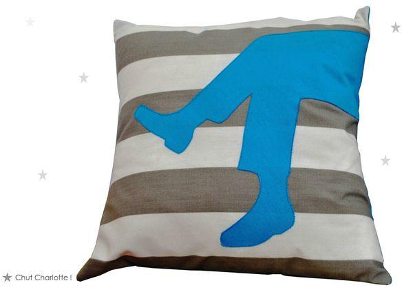 Coussin L'Homme bleu (1bis)