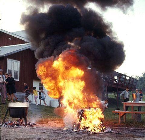 ainsi il nallume jamais son barbecue au bon moment et lorsque vient le moment de cuire - Barbecue En Pierre Fait Maison