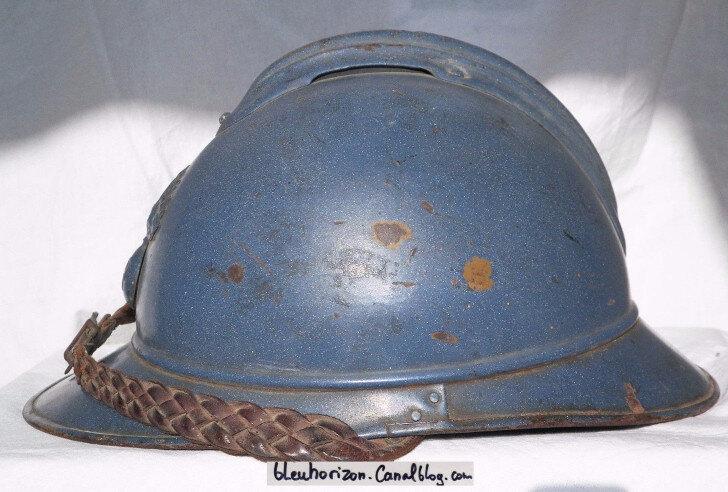 casque infanterie émaillé4log