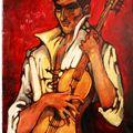 Portrait du musicien Andrés Borde - 1963