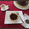 Tarte au chocolat de philippe conticini