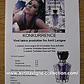 Forbidden Rose product - Fiche de concours de parfumerie polonai