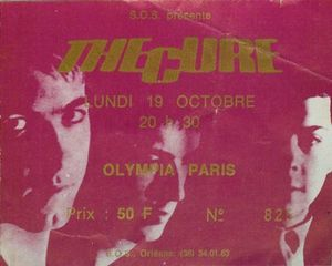 1981_10_The_Cure_Olympia_Billet
