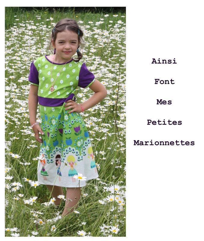 robe avec princesse 4