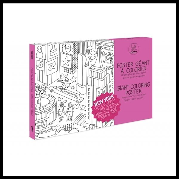 omy design & play coloriage new york