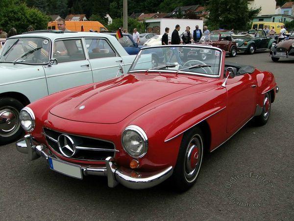 mercedes benz 190 sl 1954 1963 3