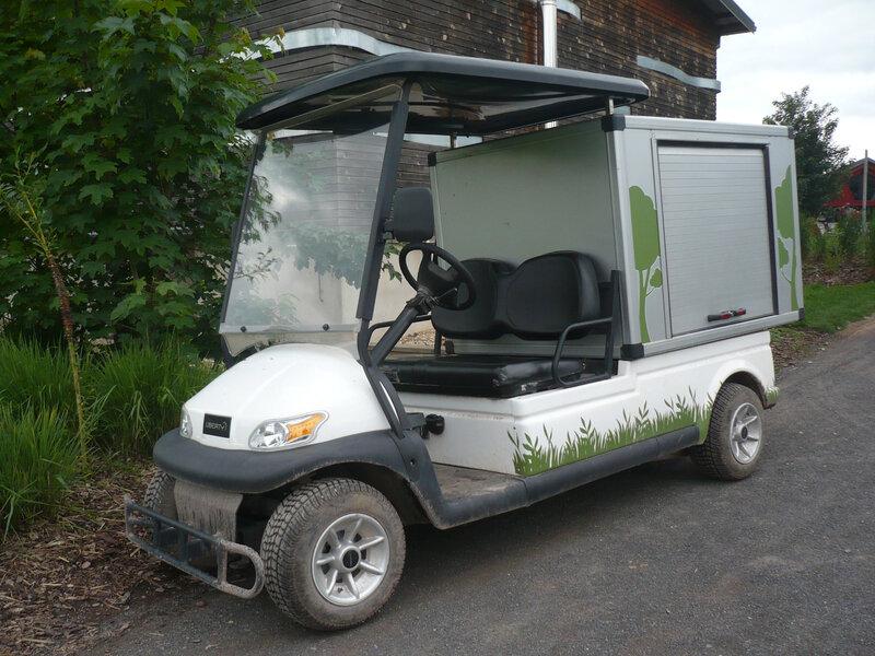 LIBERTY A1H2 Cargo Pro voiturette 100% électrique Rhodes (1)