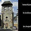La chapelle du saillant, voutezac, vitraux de marc chagall (19 correze)