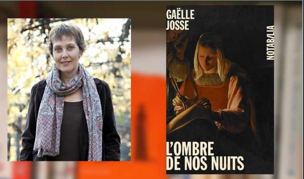 GAELLE JOSSE - L'OMBRE DE VOS NUITS - RENCONTRE DEDICACE A LA LIBRAIRIE PASSERELLES DE VIENNE (ISERE)