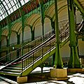 Détail métallique architectural du Grand Palais.